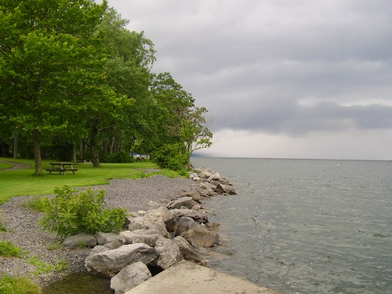 Cayuga Lake State Park A New York Park Located Near
