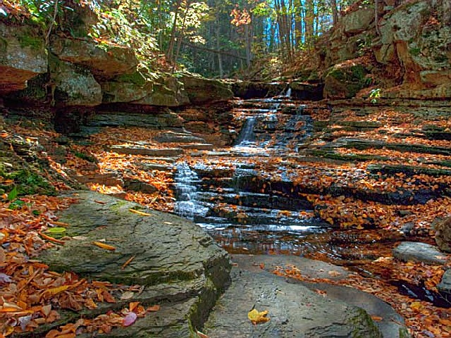 Pipestem State Park, a West Virginia park located near ...
