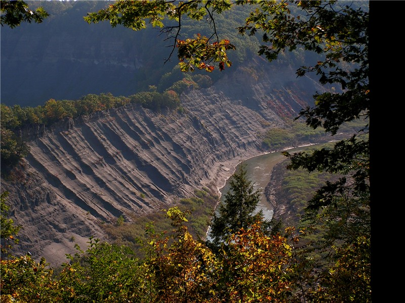 Letchworth State Park, a New York park located near Dansville, Geneseo