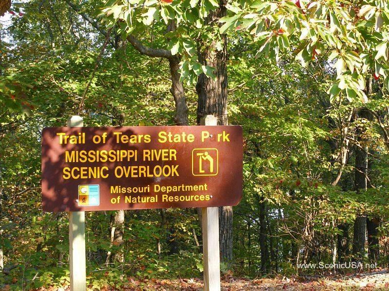 Trail of Tears State Park a Missouri park located near Cape