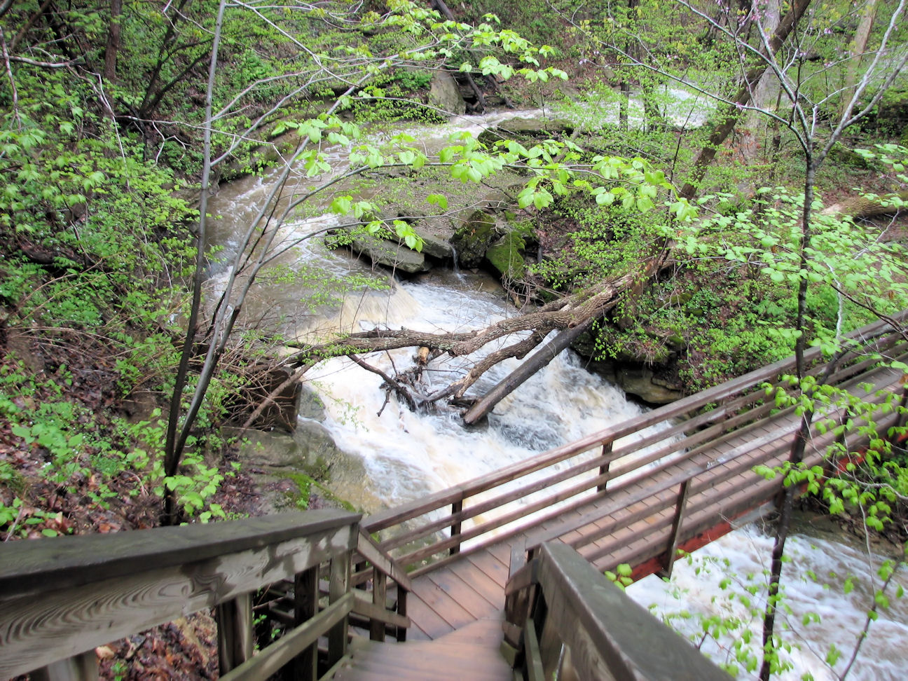 Clifty Falls State Park An Indiana Park Located Near Madison