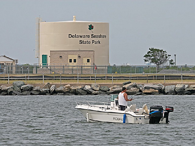 Delaware seashore state park a delaware park located near for Fishing in delaware