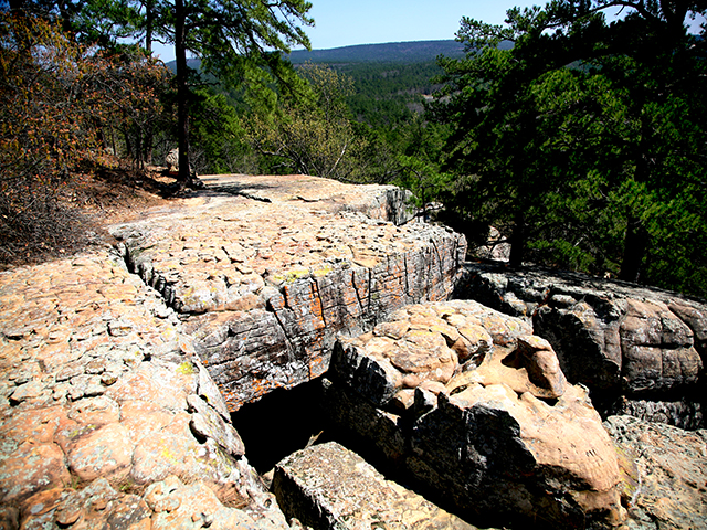 robbers cave state park an oklahoma park