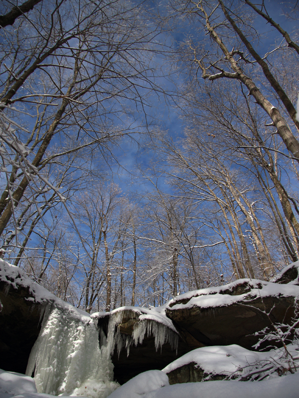 Ohio state parks winter camping