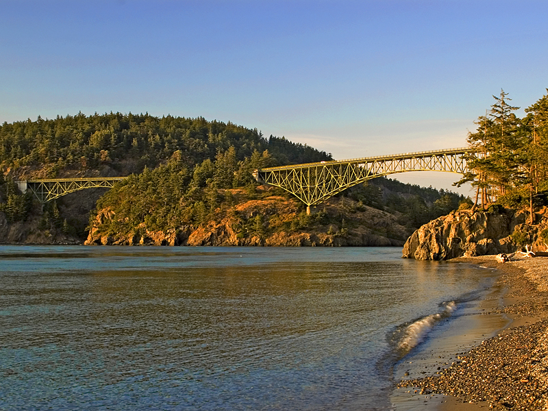 Deception Pass State Park West Beach