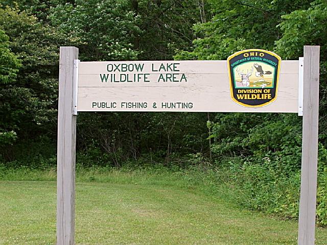 Oxbow Lake State Wildlife Area, an Ohio State Wildlife ...