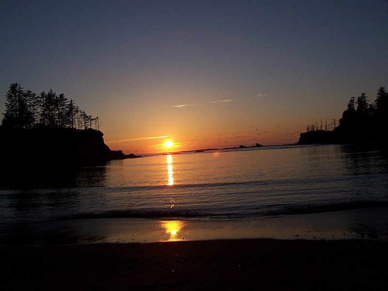 Sunset Bay State Park An Oregon Park Located Near Coos Bay