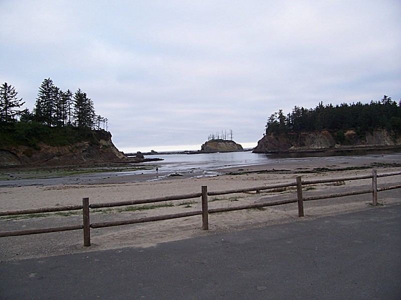 Sunset Bay State Park An Oregon State Park Located Near