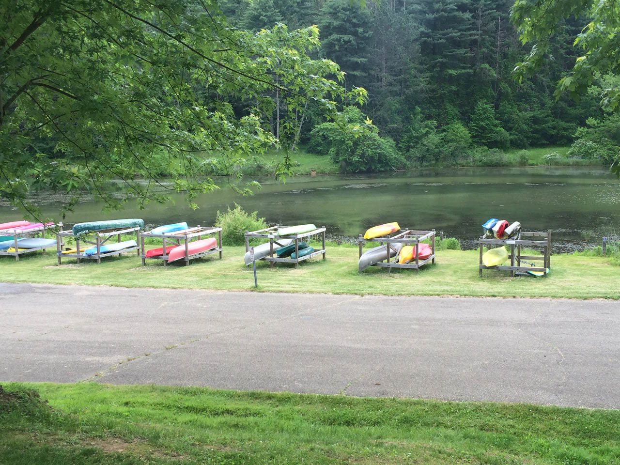 Canoes, kayaks, and paddleboards...oh,  my! - Five types of vessels are available for rent at Strouds Run State Park. Rent four hours, get your fifth hour FREE!