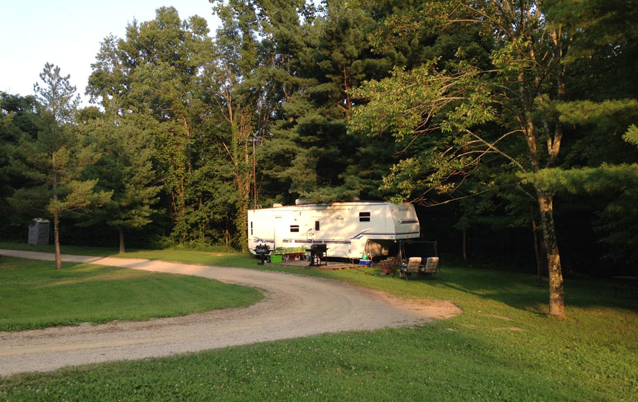 Serenity Hills Campground Hocking Hills Campgrounds