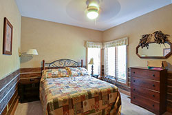 Deer Bedroom - This is one of the nine bedrooms in Blissful Ridge Lodge.