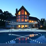 Outside Lights - Enjoy the lights at night on the patio, swimming or enjoying the hot tub.