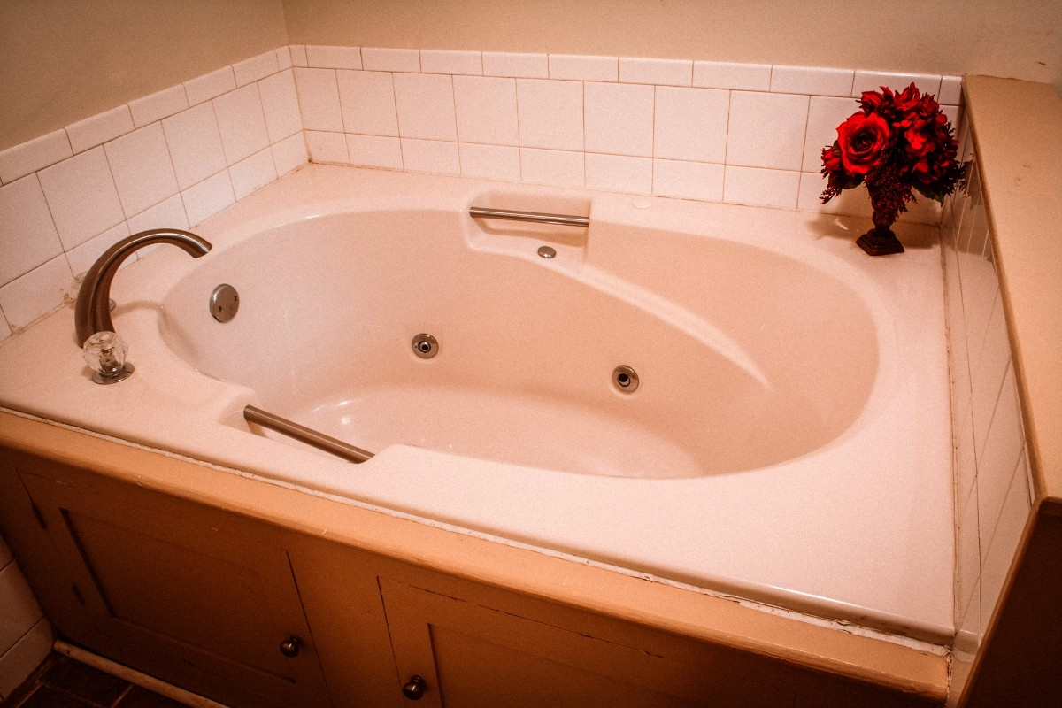 Jacuzzi Tub in Bathroom - Enjoy our Jacuzzi tub.