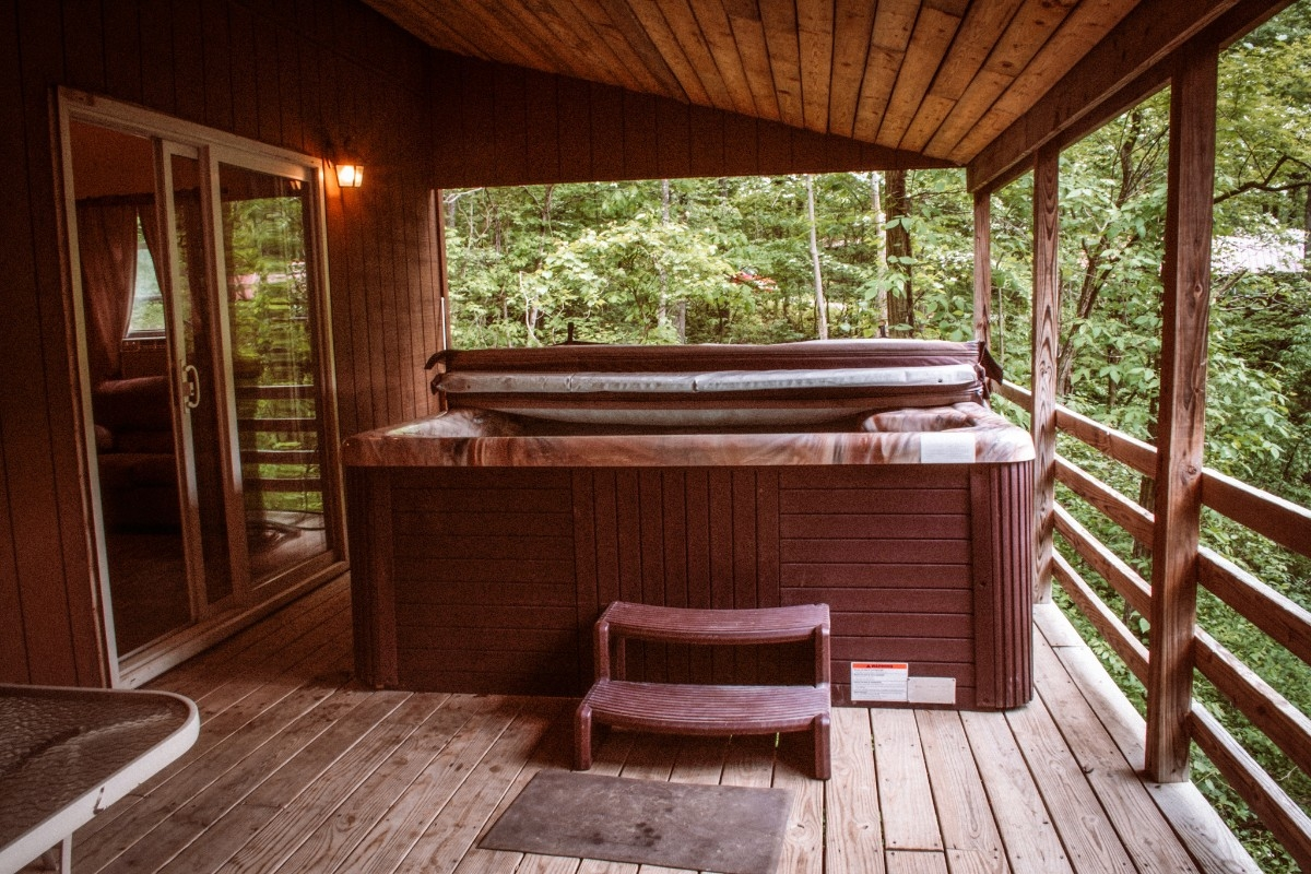 Hot Tub - Hot Tub for 8 people