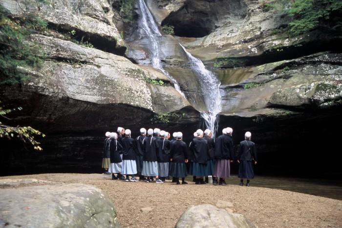 Amish at Cedar Falls
