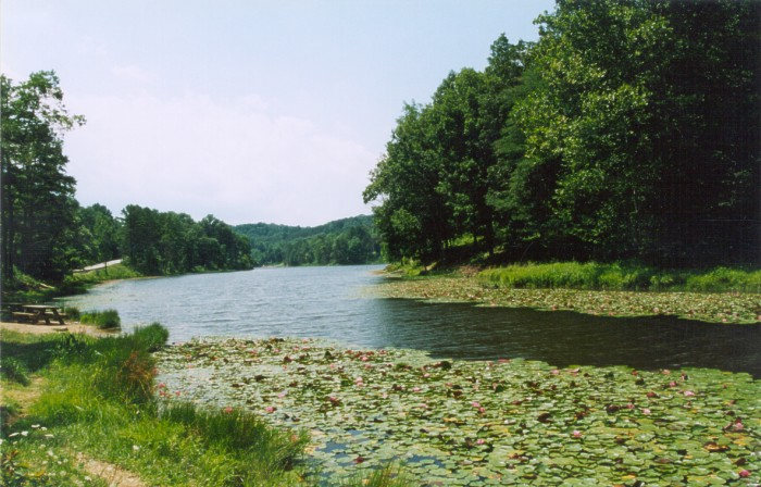 Photograph of Lake Hope