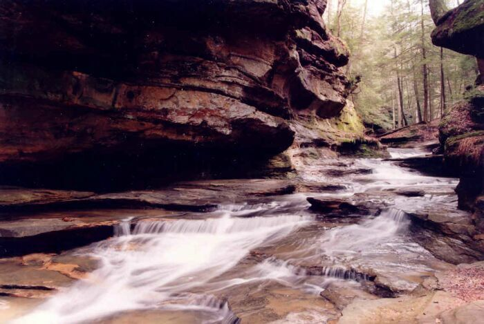 Photograph of Old Man's Middle Gorge