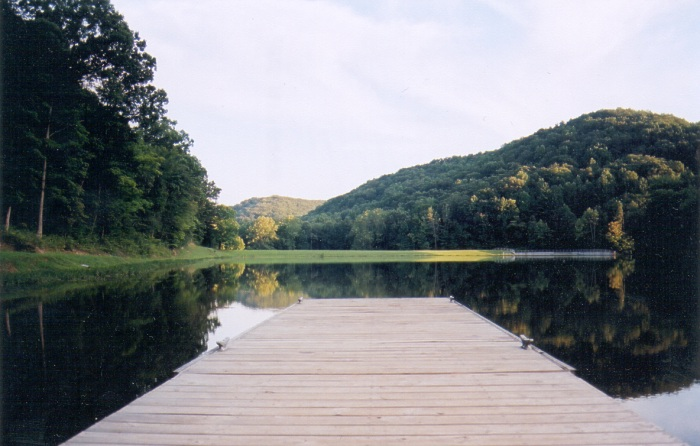 Photograph of Tar Hollow Lake