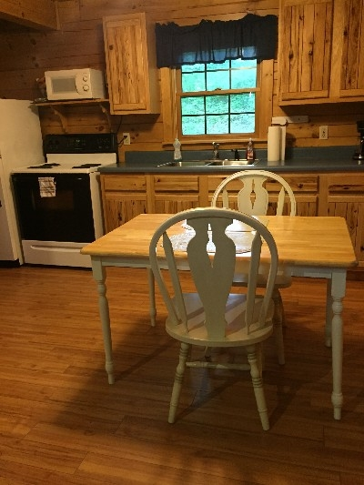 Beechwood Cabin - Kitchen
