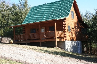 Dogwood Cabin - Front view