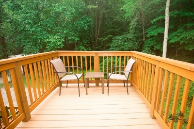 Loft deck - Step outside the loft to enjoy your own private deck.