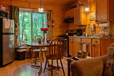 Kitchen/eating area - Our kitchen is fully equipped for all of your cooking needs.
