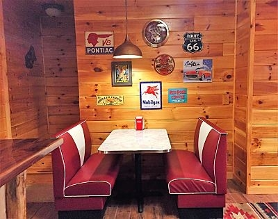 - Custom Built 57 Chevy Diner Booth!