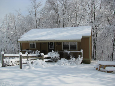 Winter at Big Pine - Cozy and warm on the inside!