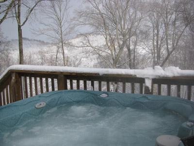 Twin Oak hot tub