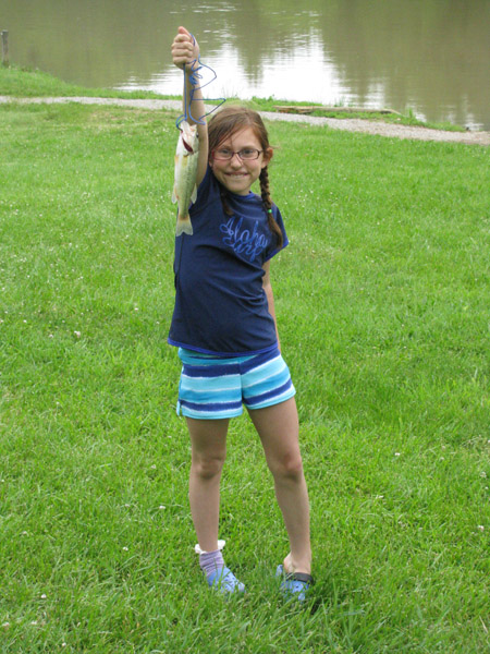 Gone Fishing! - You can purchase your fishing license online or in Athens prior to putting your hook into Dow Lake.  The Boathouse sells nightcrawlers!