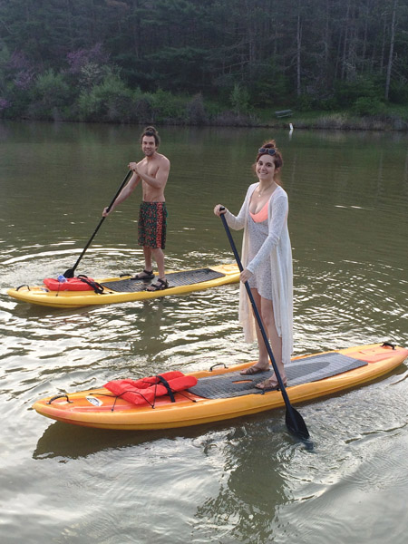 Stand Up Paddle Boards - Not everyone can look this good, but give it a try!