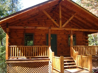 The Claddagh Cabin - Studio main floor cabin with lower level- 1 1/2 bath