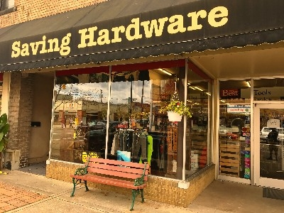 Saving Hardware - Saving Hardware store front.