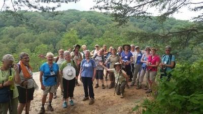 TrekNetwork group hike - Group hike to Airplane Rock