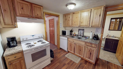 Kitchen - Kitchen comes equipped with all the amenities and appliances you need for a getaway. Just bring food!