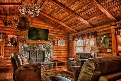 Eagle View Retreat - Living room at Eagle View Retreat