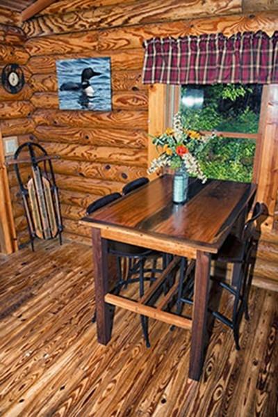 Dining Room Table - Custom made Cherry  Walnut table.