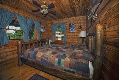 Bedroom 2 upstairs - Queen bedroom upstairs.