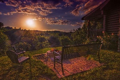Awesome sunsets! - Come enjoy an evening by the fire pit, relax and take in the awesome sunsets!