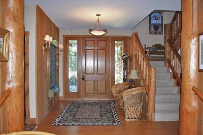 Entry way - Enjoy the comforts of home while staying at Blissful Ridge Lodge.