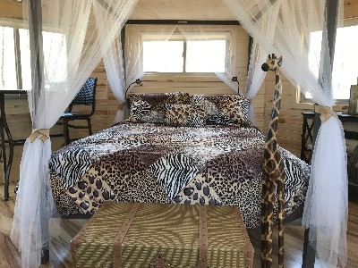 Safari Tree House - Inside view