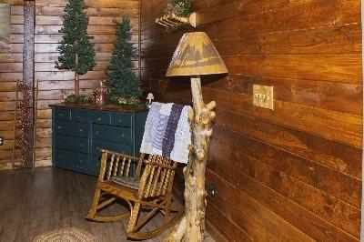 Loft Bedroom - Relax in the open loft bedroom.