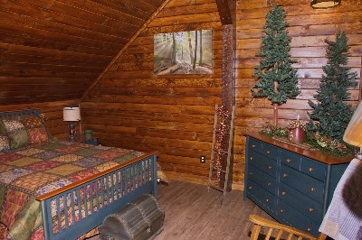 Treetop Bedroom - Treetop Bedroom with all of the details that makes it perfect.