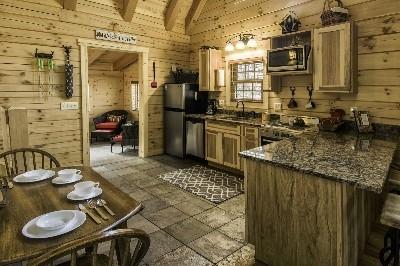 Creekside Serenity kitchen