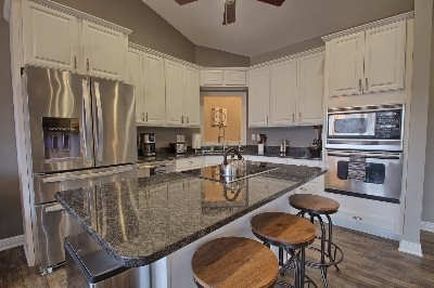 Main Level Kitchen - Complete Kitchen with all Dining Necessities.