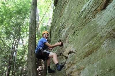 - Ages 6 and up welcome on all of our tours including Climbing pictured here and Rappelling