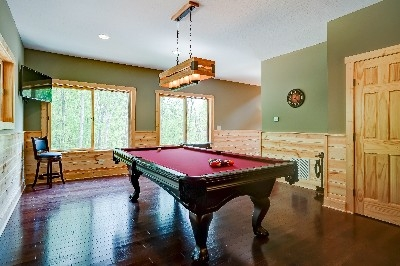 Game room - Pool Table  - Enjoy the pool table while you watch our 40 inch Television or play a game of Darts.