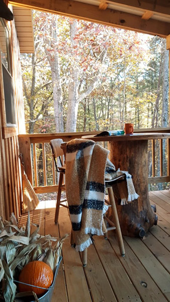Fall - Fall is spectacular on the porch