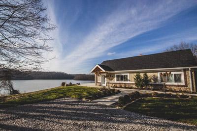 Lake House and View