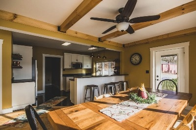 Lake House Dining Room/Kitchen